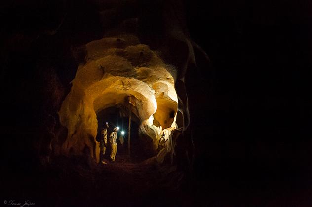 Iharana_BushCamp_la grotte dans les Tsingy_Madagascar