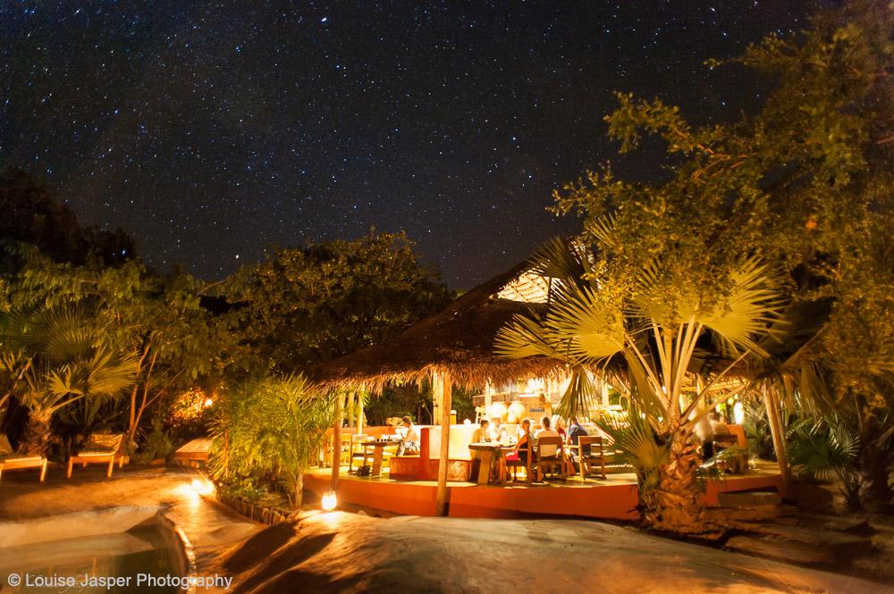 Iharana_Bush Camp_madagascar_ankarana_restaurant de nuit